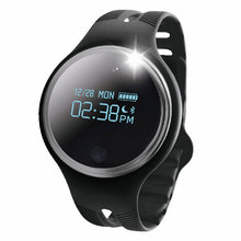 Качество E07 Bluetooth 4.0 спортивный смарт-браслет IP67 Водонепроницаемый Фитнес сна трекер SmartBand напоминание для Android и IOS