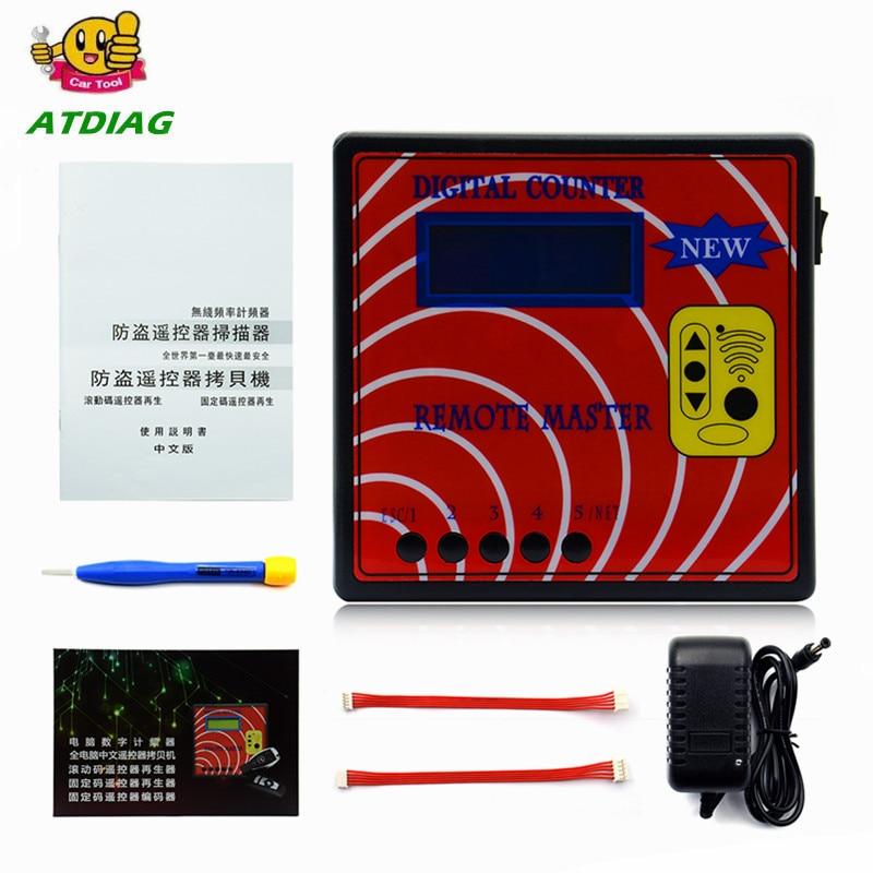 DIGITAL COUNTER REMOTE MASTER 10 Generation Frequency Display Remote control copy Regenerate RF copy Auto tool