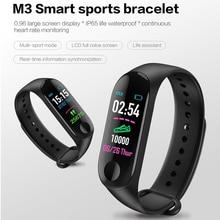 M3 Plus Smart Wristband Bracelet Sport Waterproof Blood Pressure Monitor Fitness Tracker Pedometer Watch