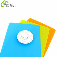 You And Me 1PCS Silicone Anti Skid Table Placemat Baking Mat Heat Insulation Dinner Pad 50x40cm