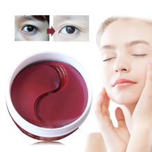 120pcs/2bottle Collagen Eye Mask Patches for the Eyes Care Dark Circles Skin Hydrogel Patch Anti Age Wrinkle Sheet