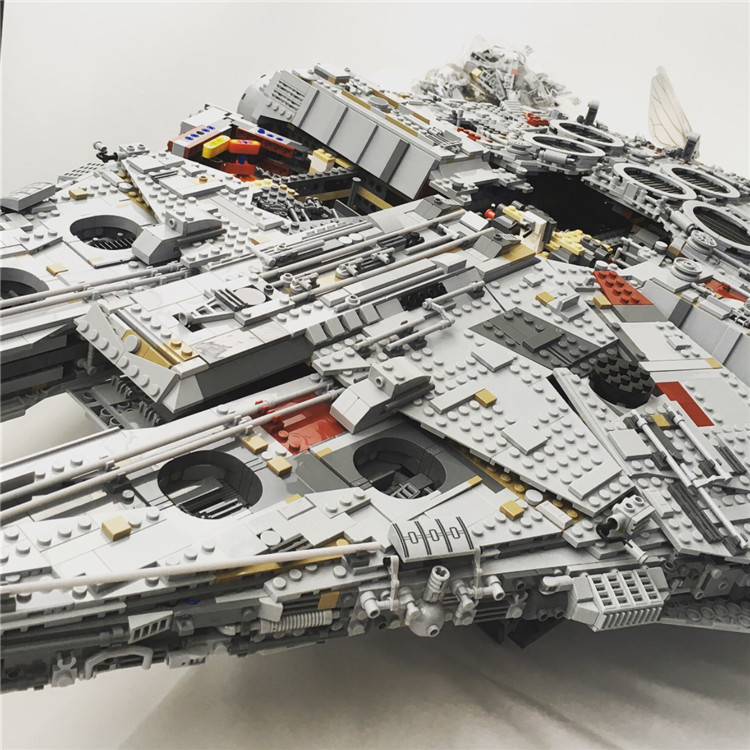 Millennium Falcon Lepin 8445pcs Compatible 75192 Star wars Series Ultimate Collectors Model Building Bricks Toys 41
