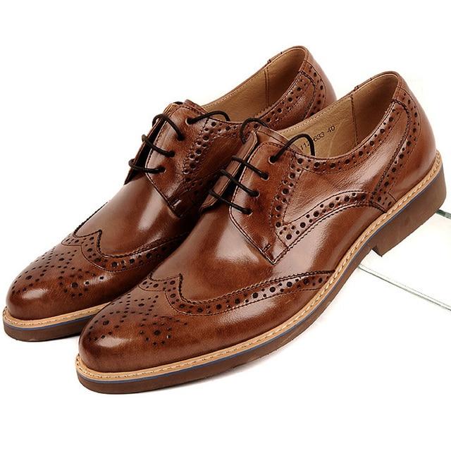 Zapatos marrones oficinas para hombre MnwbEem