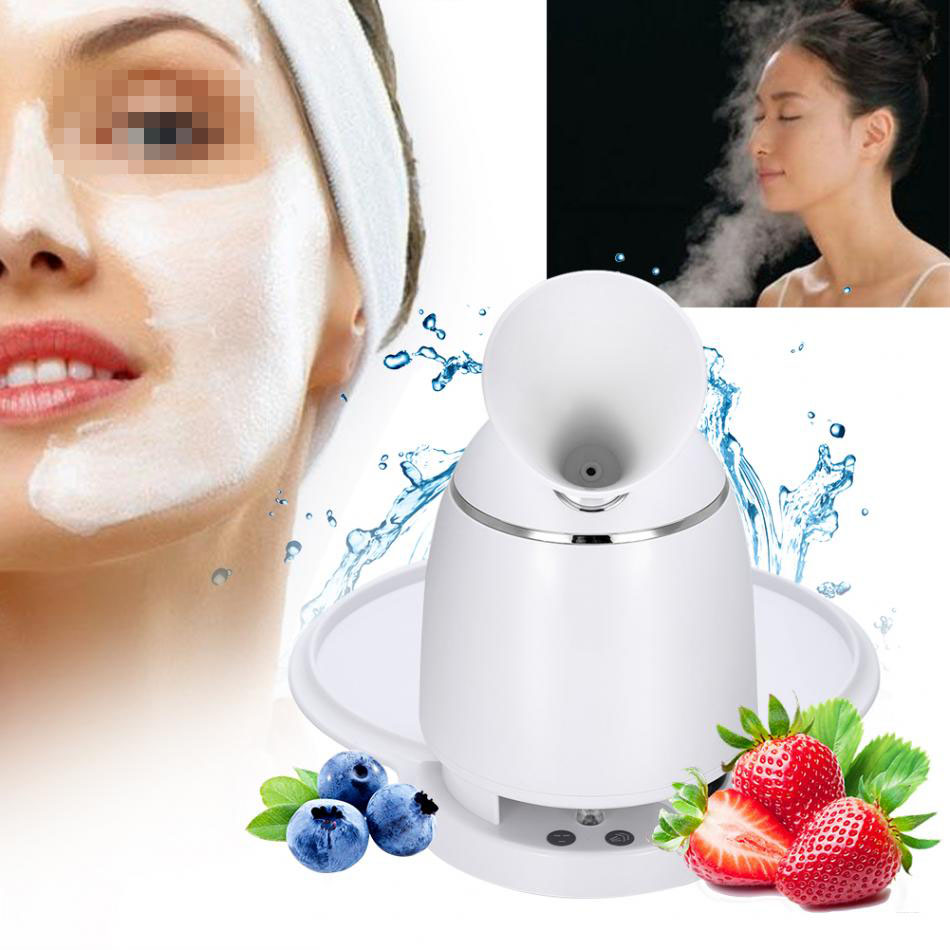 2 In 1 Automatic Facial Mask Machine & Face Steamer Natural Organic Fruit Mask Maker Steamer DIY Facial Mask Device Skin Care 4 in 1 diy facial mask maker set mixing bowl stick brush measuring spoons blue white