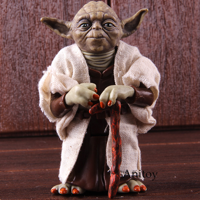 Star Wars Jedi Knight Master Yoda PVC Action Figure Collectible Model Toy Doll Gift 12cm KT2029Star Wars Jedi Knight Master Yoda PVC Action Figure Collectible Model Toy Doll Gift 12cm KT2029