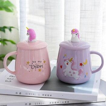Creative Unicorn Ceramic Coffee Mugs