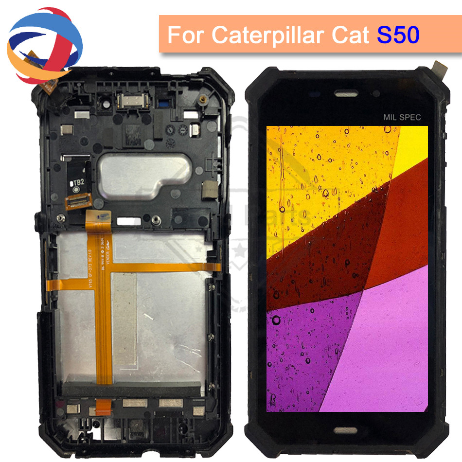 100% Tested For Cat S50 LCD screen display Touch Screen digitizer For 4.7Caterpillar CAT S50 LCD with frame free shipping+Tools100% Tested For Cat S50 LCD screen display Touch Screen digitizer For 4.7Caterpillar CAT S50 LCD with frame free shipping+Tools