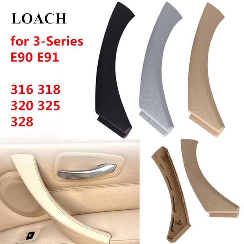Car Interior Door Handles for BMW 3 Series E90 E91 328 325 320 318 316 Inner Doors Panel Handle Bar Pull Trim Cover Left Right
