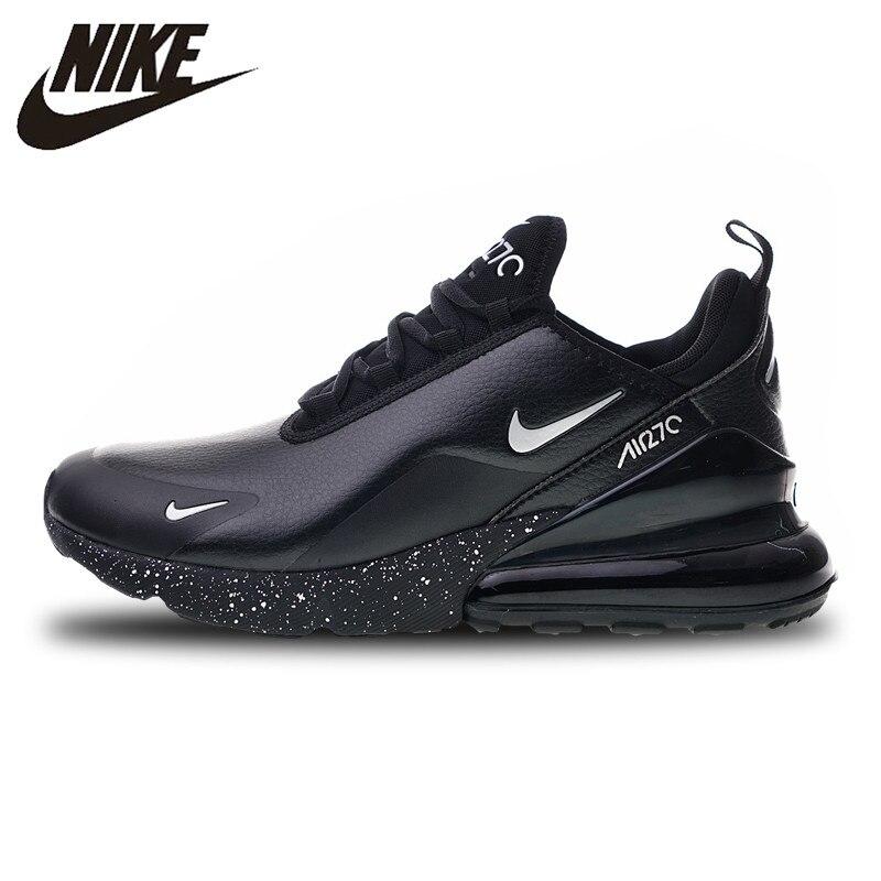 Nike Air Max 270 Premium tout noir chaussures de course pour hommes chaussures de sport AH8050-202 40-45