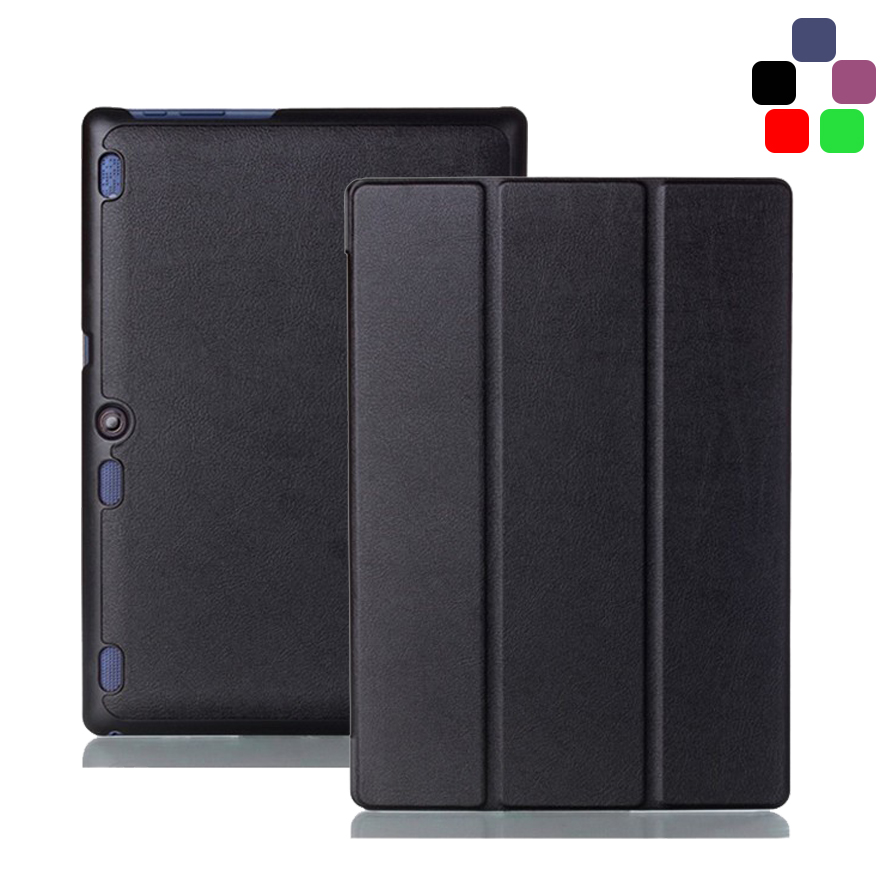Foldable PU Leather Case Fundas For Lenovo Tab 2 A10 70F Cover For Tab2 A10 70