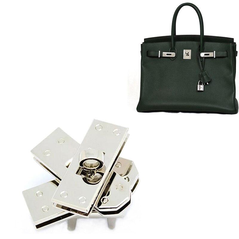47 X 17 Mm Rectangle Twist Purse/bag Lock , High Quality Bag Lock