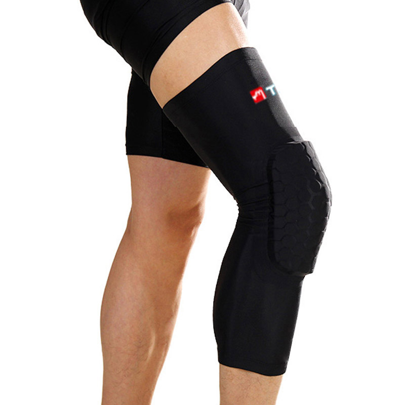 64825cd4ca Basketball Sports Safety Knee Support Football Volleyball kneepad long  Breathable roller skating popular brands knee warm pad-in Elbow & Knee Pads  from ...