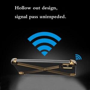 Image 5 - Thermorytic 모델 X 케이스 휴대 전화 로즈 골드 알루미늄 안티 가을 금속 핸드폰 쉘 블랙 없음 프레임 보호 커버