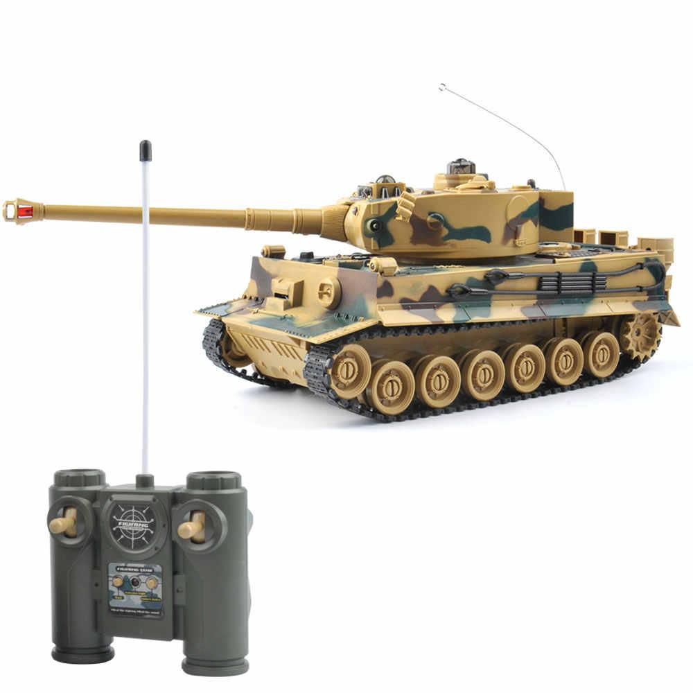 Rc Танк Германия Тигр 103 боевой танк пульт дистанционного управления игрушки с музыкальным и мигающим для детей игрушки для мальчиков Подарки