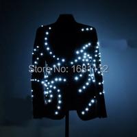 LED Costume /LED Stage clothes/ Luminous costume suit l ight