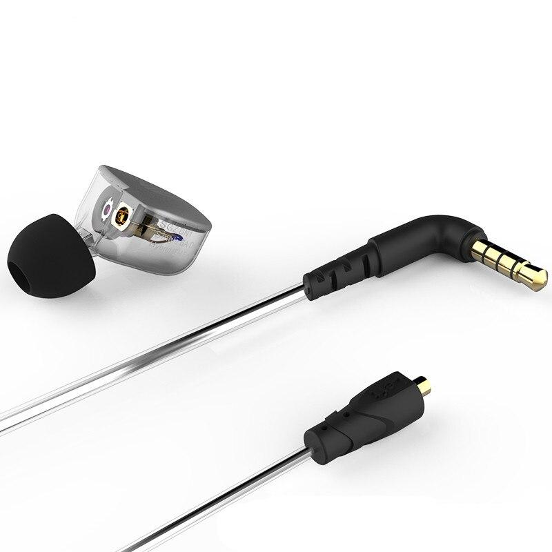 bilder für 2017 neue SGZ-DN1 Hybrid Balance Anker Mit Dynamische IEM HALLO-FI Bass In Ear Kopfhörer Earbuds Für Freies Verschiffen