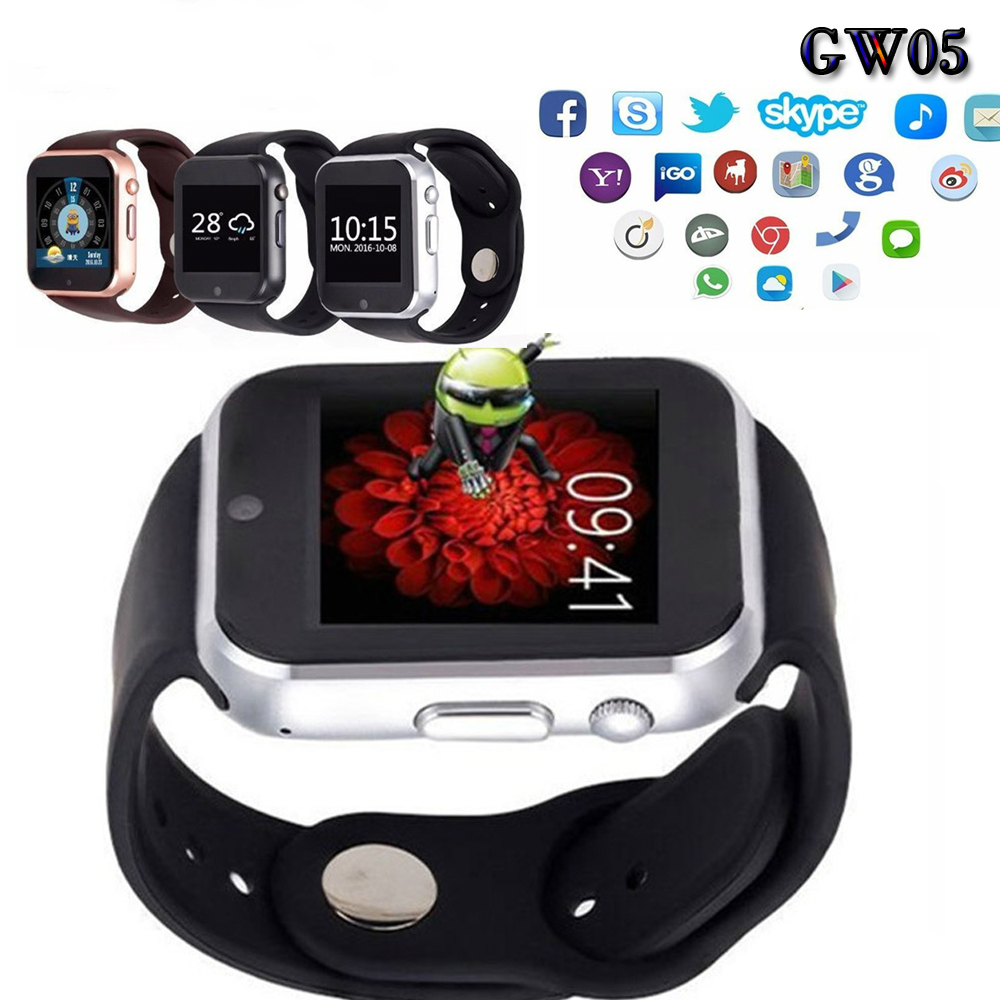 "ФОТО Gps 3g Wifi Camera Gps Gw05 Smart Watch Mtk 6572 Dual Core 1.54""screen 512mb Ram 4gb Rom Sim Card Android 4.4 Bluetoot 4.0"