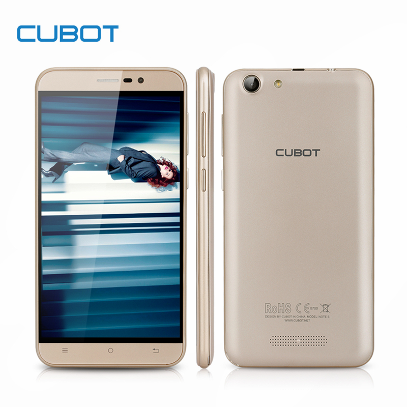 Cubot Note S 5 5inch 1280X720 Cellphone Android 6 0 2G RAM 16G ROM font b