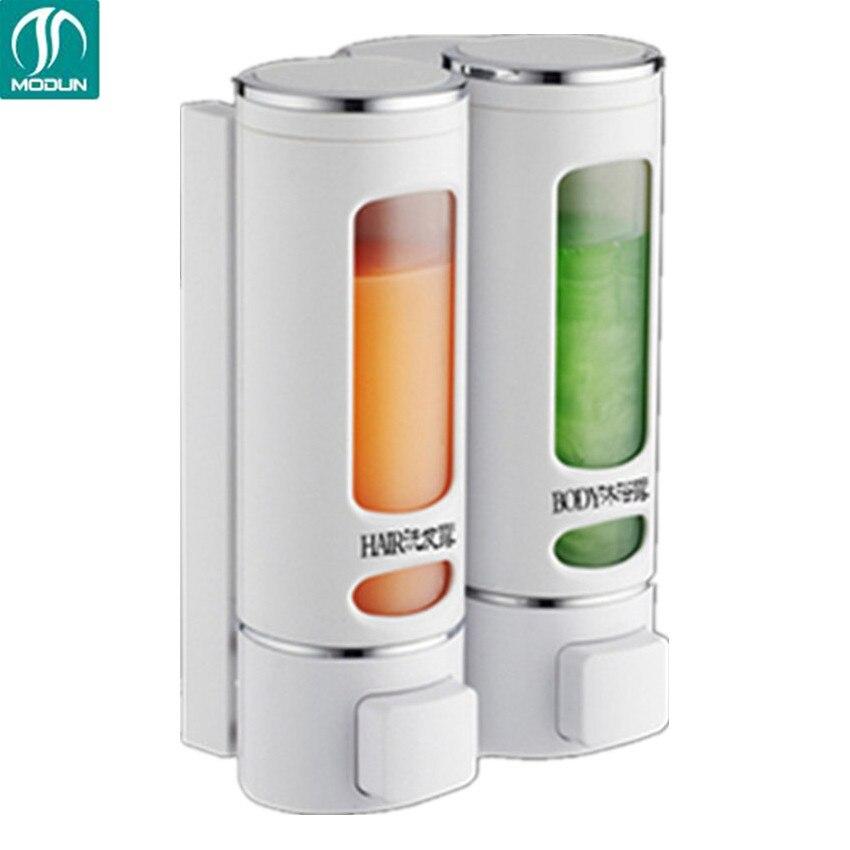 Мыло диспенсер для Моющие средства Ванная комната настенные дозаторы для жидких Мыло шампунь ручной душ пополнения Моющие средства дозаторы