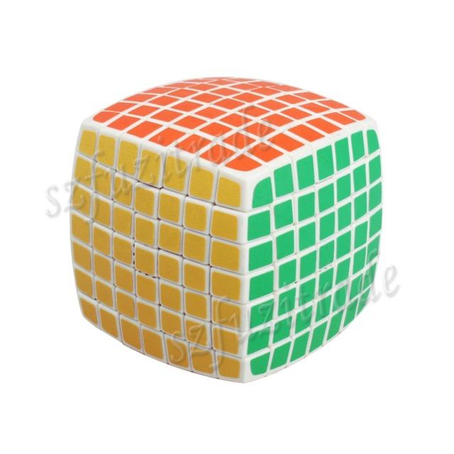 Nueva capa 7 velocidad Ultra smooth cubo mágico toque de Puzzle cuadrado mágico del juguete del regalo caliente - 50