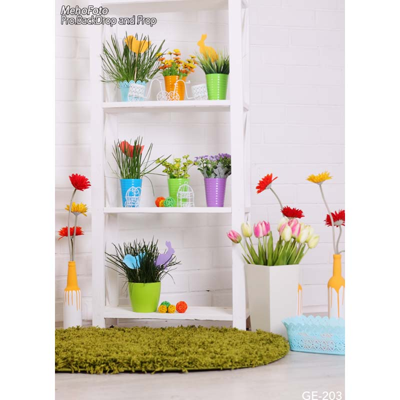 Room decoration flowers photo background Easter photography backdrops for photo studio vinyl printing photographic backgrounds custom spring easter day flowers photography background for children photo studio vinyl digital printing cloth backdrops s 461