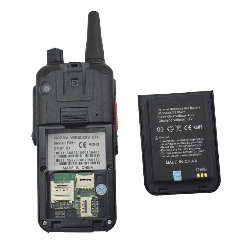 Upgrade F22 + Dual SIM WCDMA Zello PTT 3G NETZWERK Walkie Talkie Radio Android Handy 2,4 Inch Touch bildschirm 512MB RAM 4GB ROM - 2