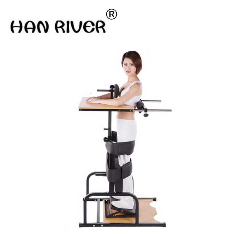HANRIVER Household rack stand lower limb rehabilitation equipment standing bed stand stroke hemiplegia rehabilitation training цена