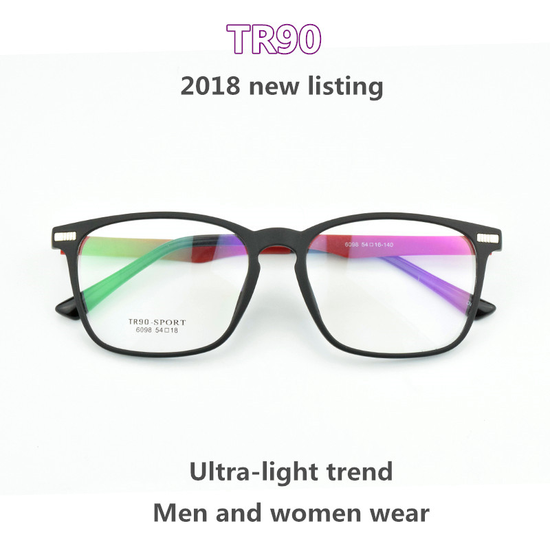 06fe4de63f3 2018 New Glasses Frame Big box TR90 TAG Hezekiah Nerd fashion Vintage  Spectacle Frames For Women Men Accessories Eyewear Frames-in Eyewear Frames  from Men s ...