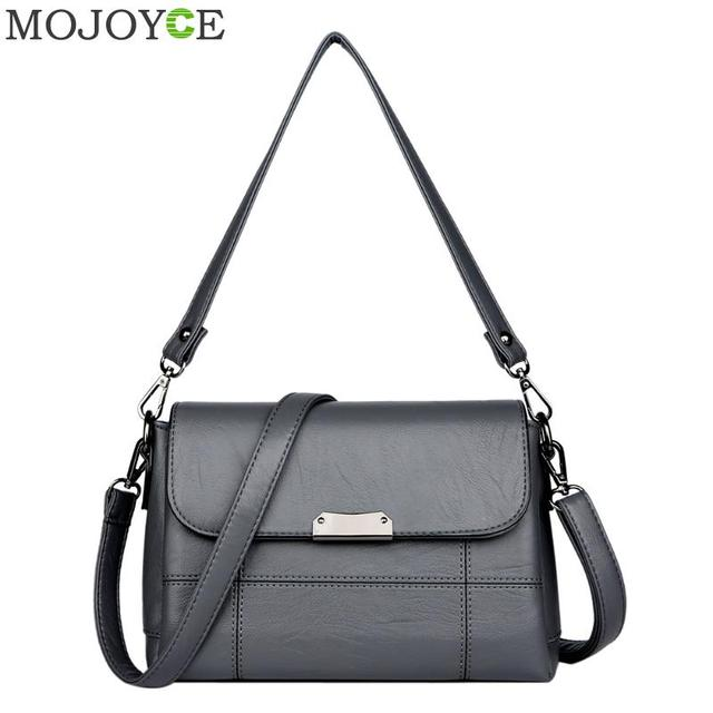 PU Leather Messenger Bags Women Handbags Fashion Designer Lady Crossbody Bags Elegant Sling Shoulder Bag