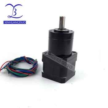 Gear ratio 14:1 19:1 27:1 34MM Planetary Gearbox stepper motor Nema 17 Geared Stepper Motor 3d printer stepper motor image
