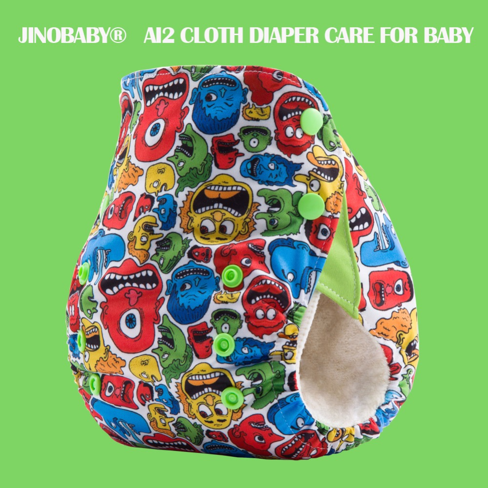 Pañales de bebé JinoBaby OS Bamboo - - Pañales y entrenamiento para ir al baño - foto 1