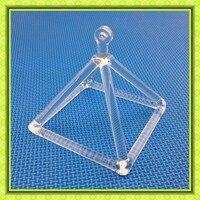Crystal Singing Pyramid Using For Meditation And Healing 9 Inch