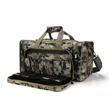 2019 Limited New Multi-function Tactical Gun Bag Shooting Outdoor Large-capacity Package Military Lockable Zipper (camouflage)