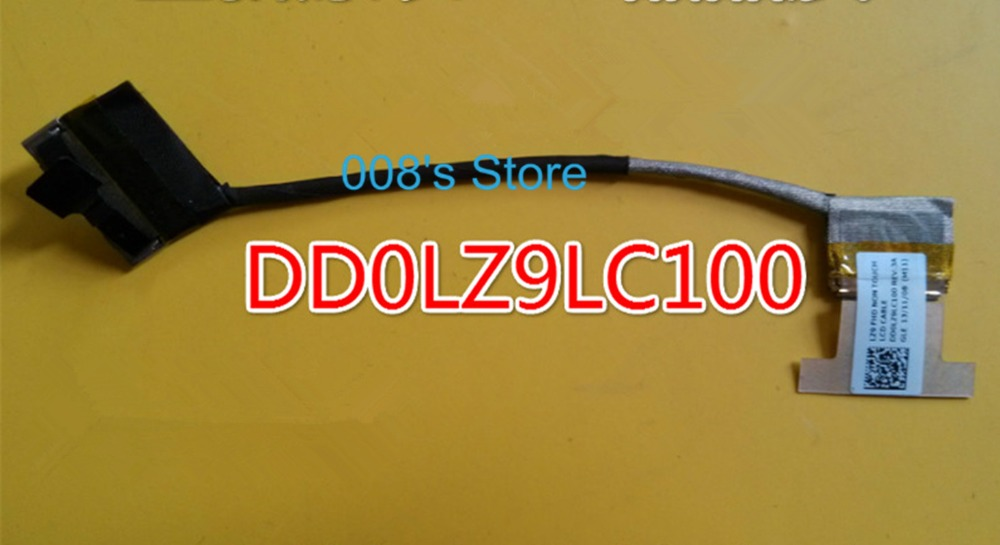 Brand New LCD Video Flex Screen Data Cable Wire Line For Lenovo U430P LZ9 DD0LZ9LC100 Laptop Series free shipping brand laptop new lcd flex video cable for lenovo g500s g505s cable dc02001rr10