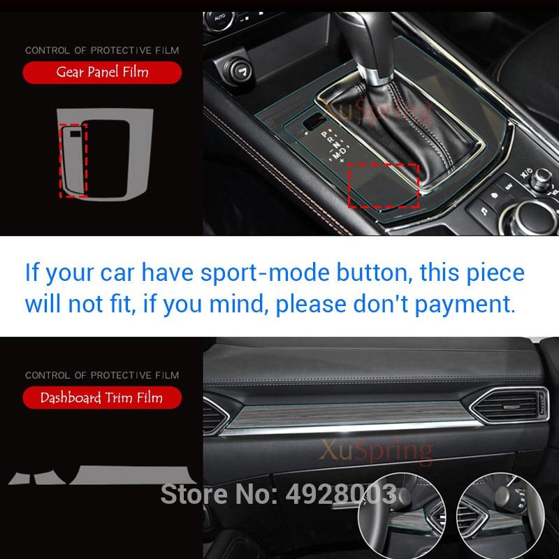 lowest price Car Interior Protective TPU Film Coverage Stickers Bright Repair Membrane Styling For Mazda CX-5 CX5 2017 2018 2019 KF