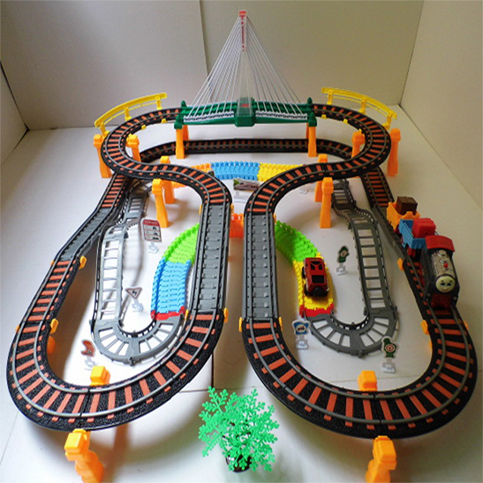 super thomas electric train track electric Toy Train Set Tracks-in ...