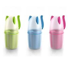 Topsky Creative Plastic Mouthwash,Couple,Wedding,Toothbrush,Cup Set,Simple Household Dental Cup with a Cover