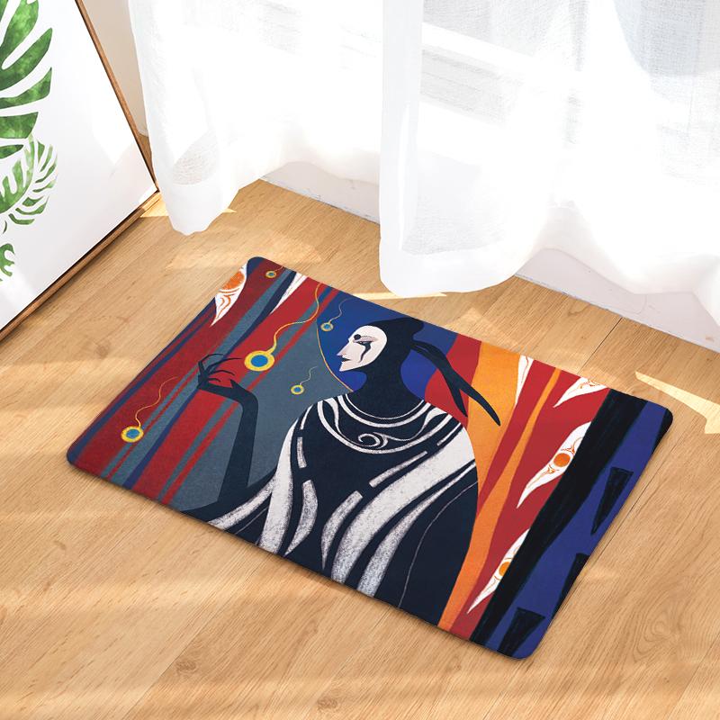 Flannel Floor Mats Myth Printed Bedroom Living Room Carpets Cartoon Pattern  Mat for Hallway Anti-Slip Tapete - us902 c9b5b9d7b1f7