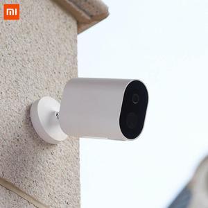 Image 4 - 2019 Xiaomi Mijia Xiomi Smart Wireles Camera IP65 Waterdicht Stofdicht 5100 Mah F2.6 Diafragma Infrarood Nachtzicht Cctv camera3