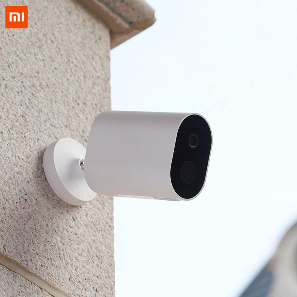 2019 Xiaomi Mijia Xiomi Smart Wireles Camera IP65 Waterproof Dust-proof 5100mAh F2.6 Aperture Infrared Night Vision CCTV Camera3