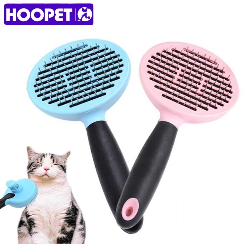 Pet Grooming Tool Brush Comb Hair Dual Sided Cat Dog Fur Shedding Cat Dog Pet EN