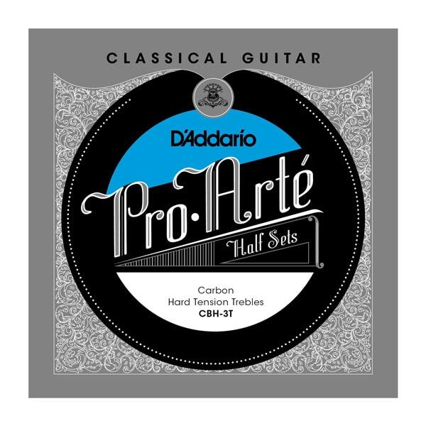 D'addario Pro Arte Klassieke gitaar Carbon Treble Half Sets Normaal / Harde spanning CBH-3T CBN-3T