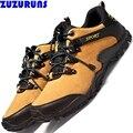 Venda quente da moda homens botas de trabalho de couro genuíno respirável antiderrapante caminhadas viagem sapatos casuais botas homens tornozelo zapatillas c358