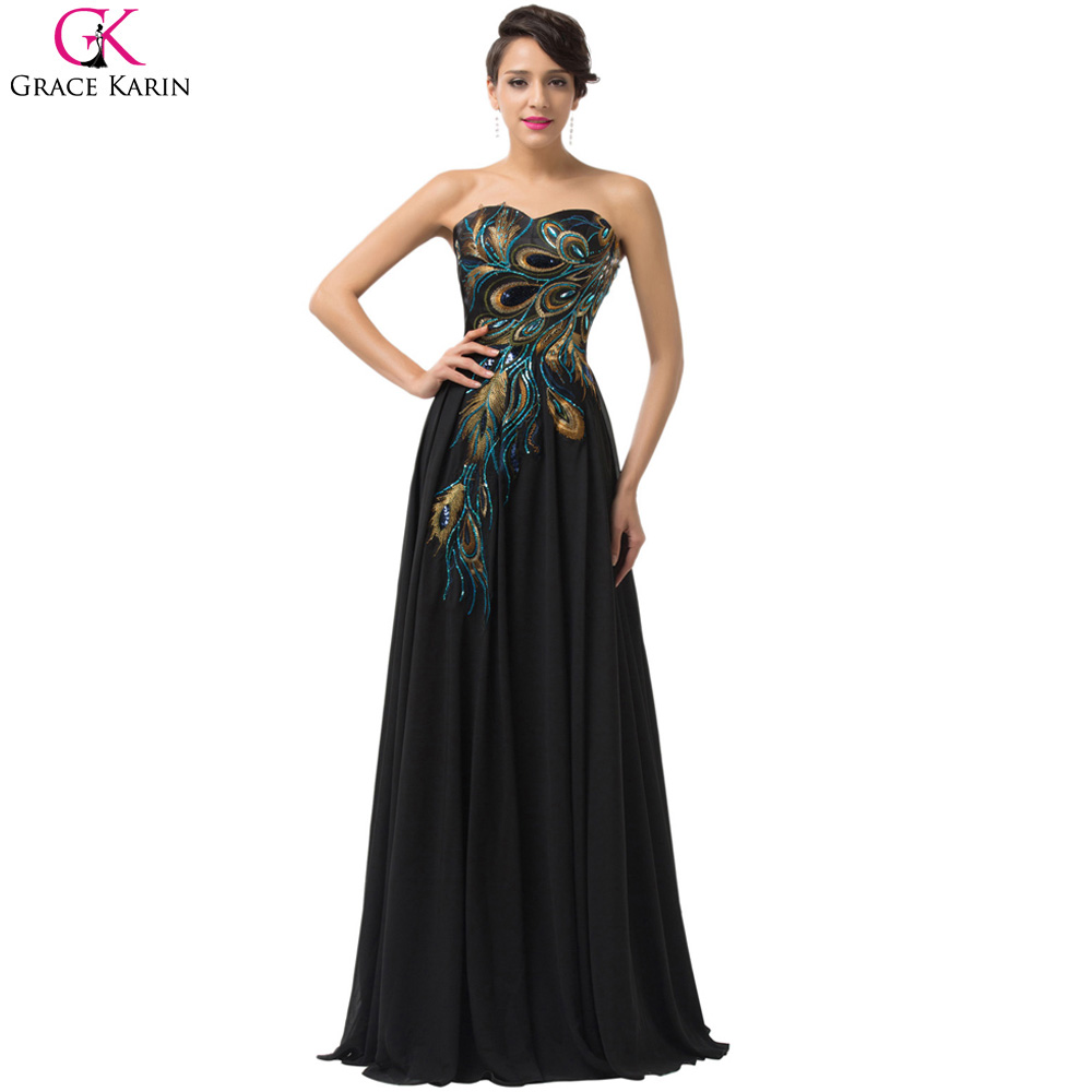 Online buy wholesale long navy blue bridesmaid dress from china 2017 navy blue cheap long peacock bridesmaid dresses grace karin dresses plus size bridesmaid dress wedding ombrellifo Image collections
