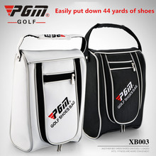 PGM high quality Lightweight portable durable golf shoes bag men women leisure PU bag waterproof outdoor sports Golf shoes bag