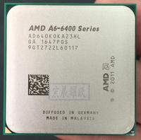 AMD A6 Series A6 6400K A6 6400K A6 6400 640K Dual Core CPU APU FM2 100% working properly Desktop Processor