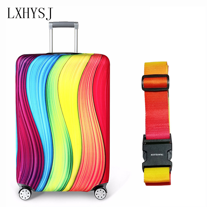 Elasticity Kit Luggage Protective Covers Luggage Coverr Luggage Belt For 18-32 Inch Suitcase Dust Cover Travel Accessories