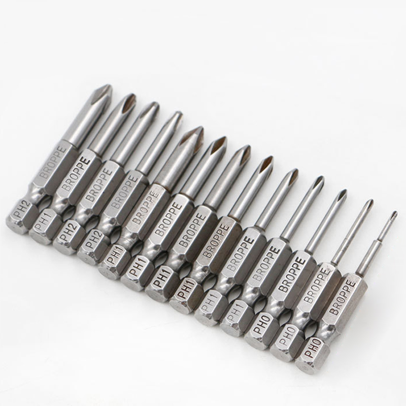 13 Pcs/set 1/4 50mm PH00-PH2 Phillips Screwdriver Bits S2 Alloy Steel Electric Drill Cross Screw-driver Head Power Driver Tools tactical glock leg holster left hand paddle thigh belt drop pistol gun holster w magazine torch pouch for glock 17 19 22 23 31