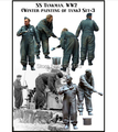 FREE SHIPPING 1:35 WWII German tank crews paint two