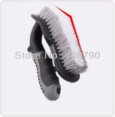 Free shipping High-quality Special nylon AUTO Car Tire Brush Floor Mat Brush Household Carpet Brush